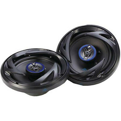 "NEW 6.5/"" Shallow Mount 3way Car Audio Speakers.4ohm Stereo Pair.Door.6-1//2/"" 2"