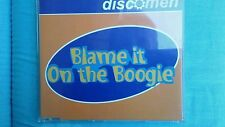 DISCOMEN - BLAME IT ON THE BOOGIE. CD SINGOLO 5 TRACKS