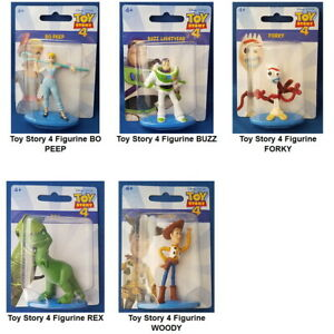TOY-STORY-4-Mini-Figurine-Toy-or-Cake-Topper-You-Choose-Character