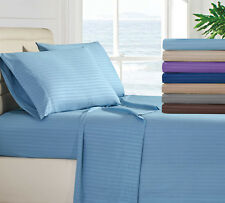 Egyptian Comfort 1800 Thread Count Bed Sheet Set - 4 Piece Deep Pocket 11 Colors