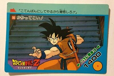 Realistisch Dragon Ball Z Pp Card 96