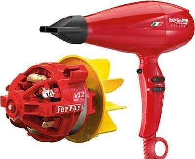Babyliss Pro V1 Volare Hairdryer Ferrari Engine 2200w Hair Dryer Made In Italy 74108239983 Ebay