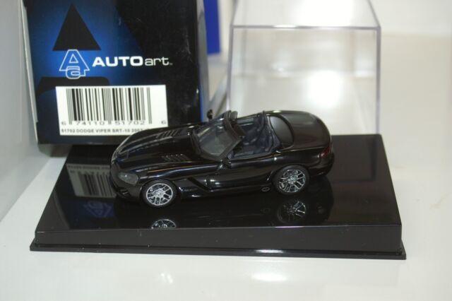 Dodge Viper SR-T 10 2003 noir véhicule miniature 51702 AutoArt 1/43