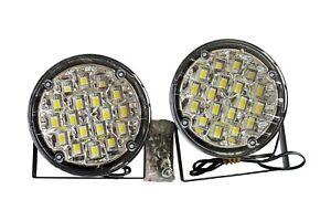 2pcs-x-12V-18-LED-Xenon-White-Front-DRL-Daytime-Running-Lights-Fog-Lamps-050-5