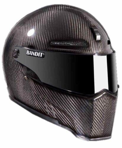 CASCO Bandit Alien 2 II Carbon casco Integrale Casco Moto Visiera o di selezione
