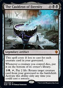 The Cauldron of Eternity Throne of Eldraine Mtg x1 1x ELD Magic 082