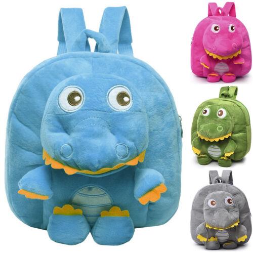 Toddler Child Kid 3D Dinosaur Plush Backpack School Bag Rucksack Kindergarden