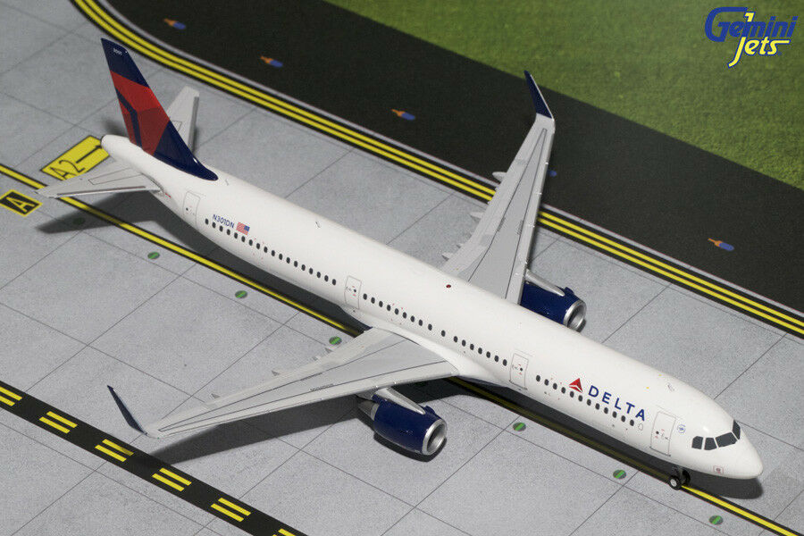 Gemini Jets Escala 1 200 Delta Delta Delta Air Lines Airbus A321-200 (s) N301DN G2DAL444 3eddfc