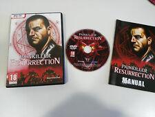 PAINKILLER RESURRECTION JUEGO PARA PC DVD-ROM ESPAÑOL + MANUAL DREAM CATCHER