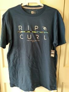 Men-039-s-Rip-Curl-Graphic-S-S-T-Shirt-NWT-Free-Shipping