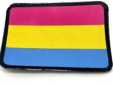 Pansexual LGBT Flagge Sublimiert Klettverschluss Patch