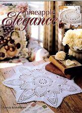 L.A. Crochet Pattern Book PINEAPPLE ELEGANCE Doilies 3291 Patricia Kristoffersen