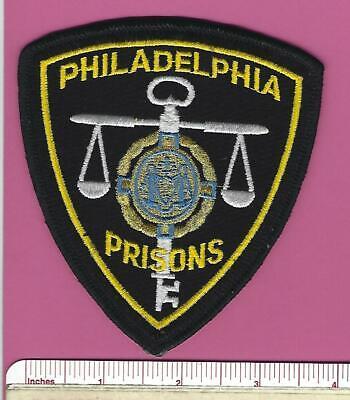 Philadelphia Prisons Pennsylvania State of PA Police DOC Jail Shoulder Patch