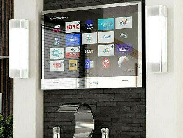 22 Sarason Waterproof Bathroom Kitchen Led Mirror Hd 2017 Smart Tv Option