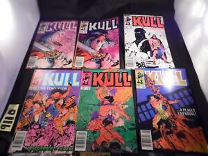 Kull-Lot-of-6-books-5-6-7-8-9-and-10-1982-series