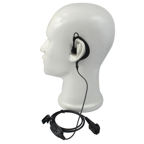 10xG-shape Earpiece Microphone for HYT PD780//PD702//PD705 PT580 PD785 2way Radio