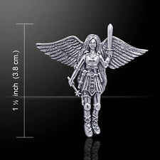 Angelic Fairy .925 Sterling Silver Pendant by Peter Stone
