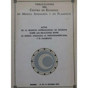Herrlich Die Musica Andaluza Hisponoamericana Y El Flamenco 1972 Partitur Sheet Music Noten & Songbooks Musikinstrumente