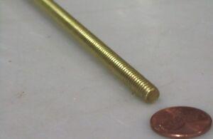 5//16-24 x 2 Foot Length RH Threaded Brass Rods