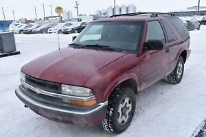 2001 Chevrolet Blazer LS 2-Door 4WD