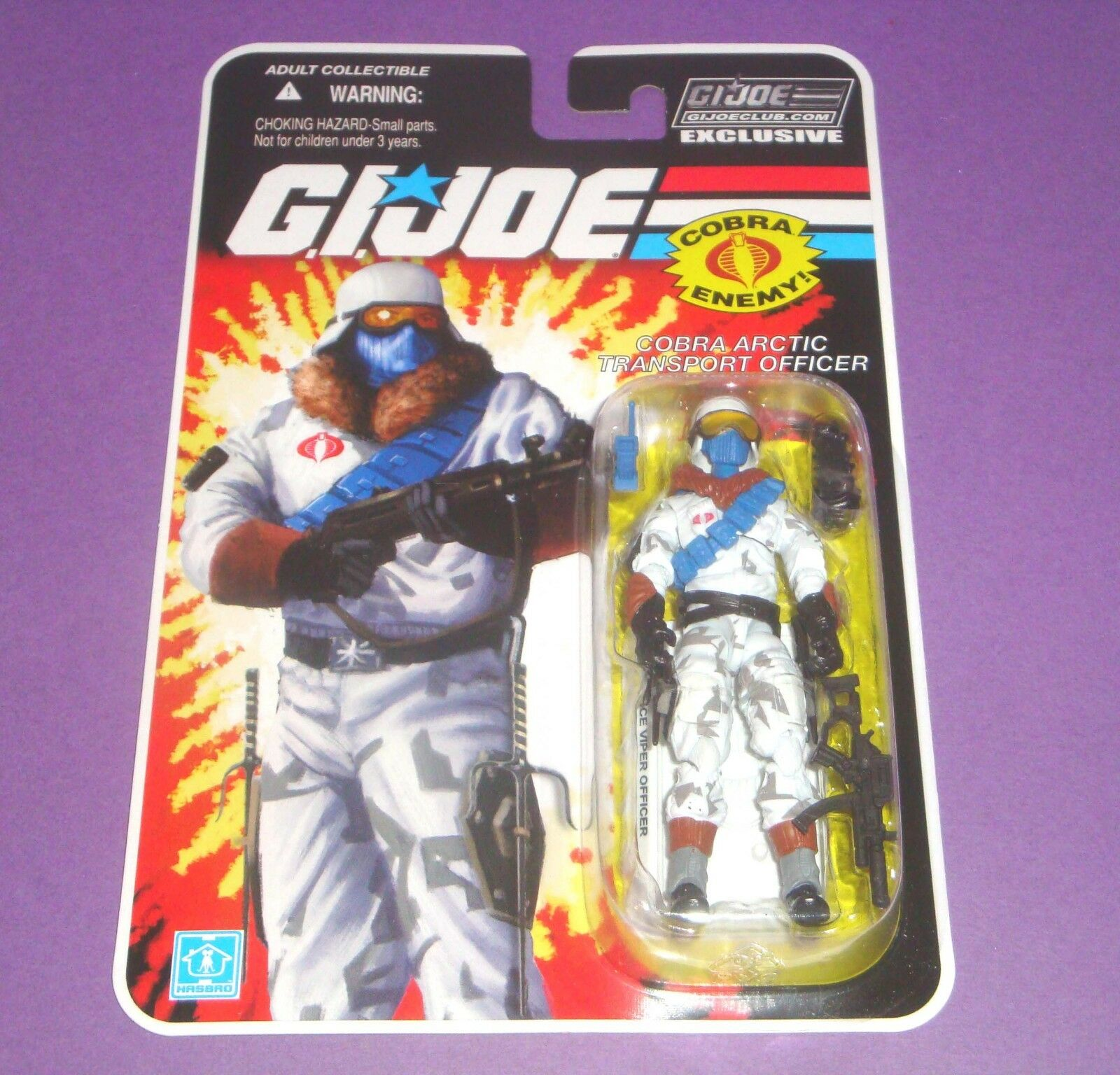 Ice Viper Officer - FSS 7.0 - GIJOE Figure Subscription - FSS Sealed New MOC