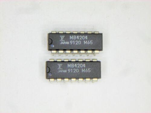 """MB4204   /""""Original/"""" Fujitsu 14P DIP IC  2  pcs"""