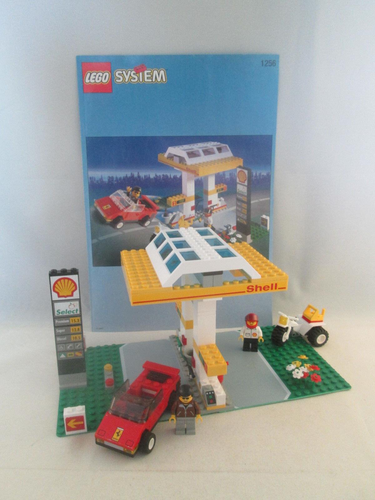 Lego Town Jr - 1256 Shell Petrol Pump