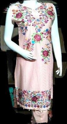 Qualified Indian/pakistani Designer Cotton Readymade,anarkali,salwar Kameez Suit s/m/l Women's Clothing