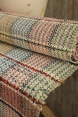 RAG RUG vintage 6 yds European carpet