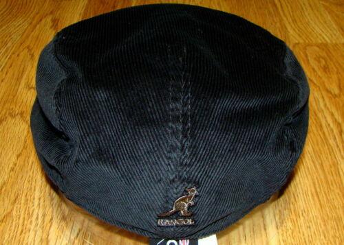 KANGOL Black Cord Cap