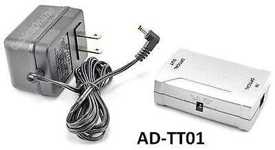 Optical Toslink Digital Audio Booster Amplifier with AC Power Adapter AD-TT01
