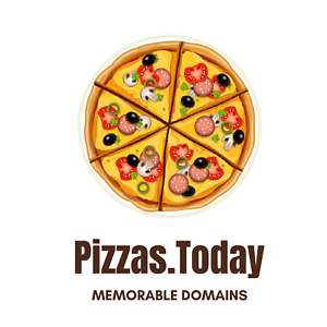 Pizzas.Today- Domain Name For Sale - Premium Domain Name -  Startup Business