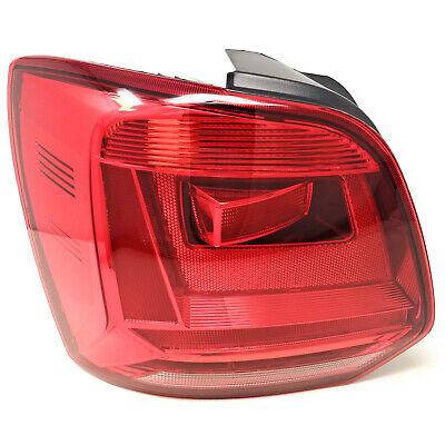 Left For VW Polo 6C Hatchback 2014-2017 Car-Styling Rear Light Tail Light