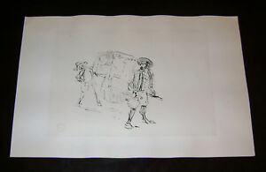 Toulouse-Lautrec-1955-pochoir-Jacomet-Paris-signed-amp-stampsigned-in-the-plate