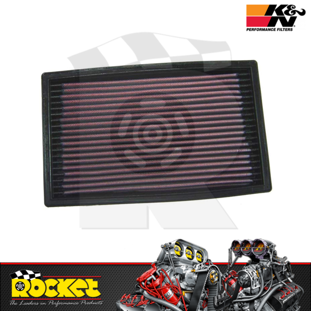 K&N Panel Air Filter Fits Ford Fits Hyundai Excel Mazda 323 MX5 - KN33-2034