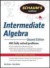 Schaum's Outline of Intermediate Algebra by Ray Steege, Kerry Bailey (Paperback, 2010)