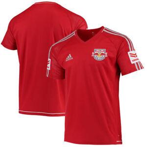 7e0a3fd36 New York Red Bulls Men s adidas Red 2016 17 Training Adizero Jersey ...