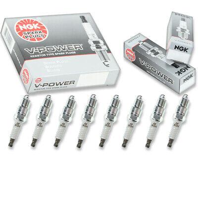 8 pc 8 x NGK V-Power Plug Spark Plugs 6630 UR4 6630 UR4 Tune Up Kit Set df