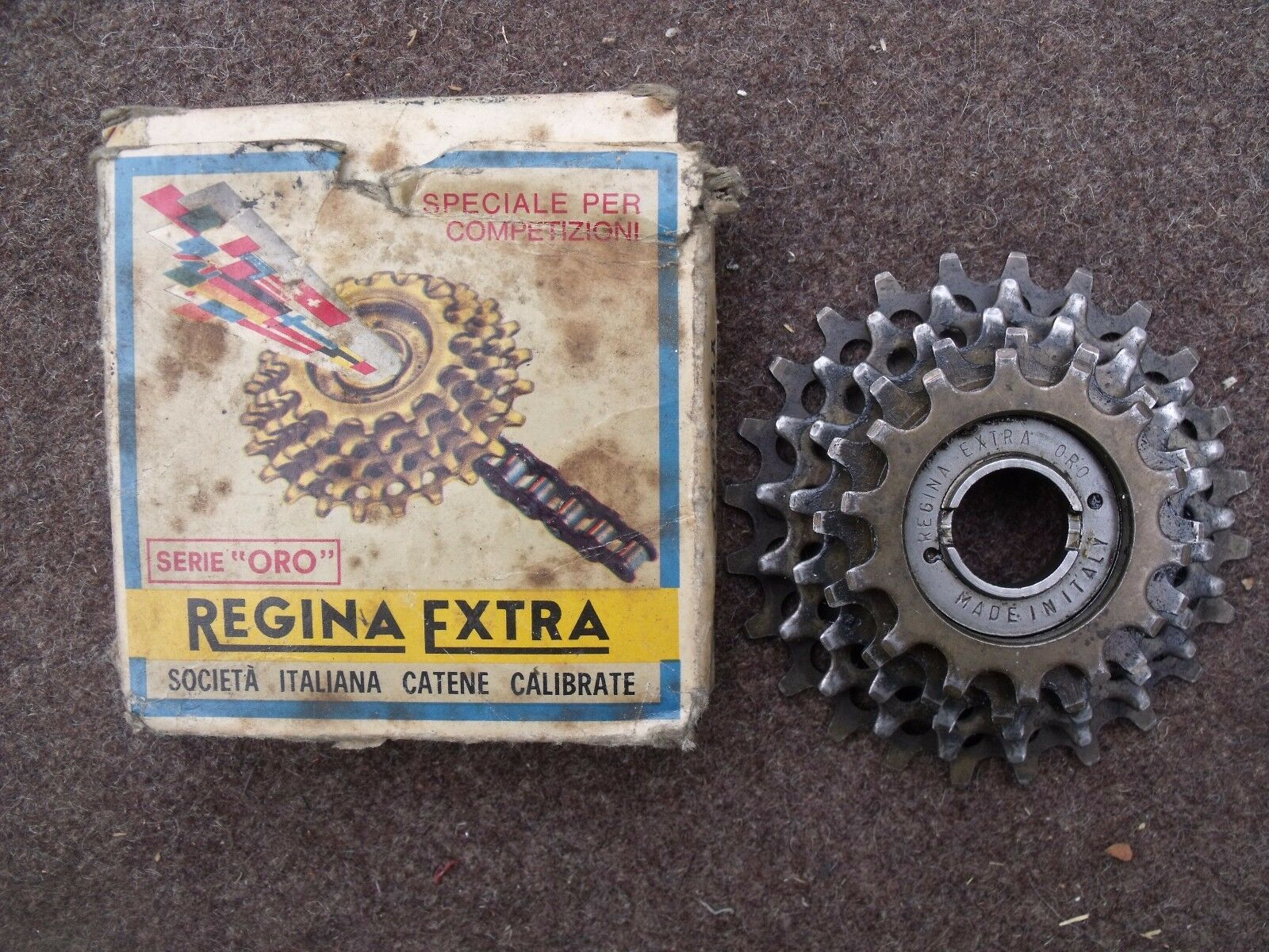 ROUE LIBRE CASSETTE REGINA EXTRA SERIE Gold 5 VITESSES 14x 24
