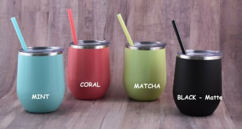 Mommy/'s Sippy Cup Stainless Steel Wine Tumbler