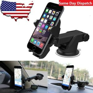 360° Car Windshield Mount Cradle Holder Stand Mobile Cell Phone GPS iPhone LOT
