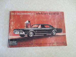 1967 oldsmobile cutlass supreme cutlass 4 4 2 f85 owner s manual ebay rh ebay ie 1970 Oldsmobile Cutlass 1970 Oldsmobile Cutlass