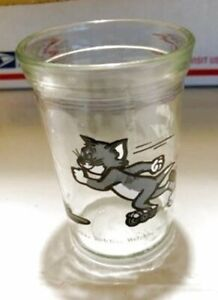 Tom Roller Skating, Tom /& Jerry Welch/'s 1990 jelly glass