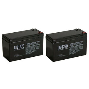 SLA Replacement Battery Altronix AT4 12V 7Ah with F1 terminal