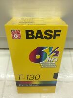 2 Basf Vhs Blank Tapes Sealed/new 6.5 Hours / T-130