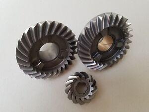 New OEM 985050 398035 393633 Evinrude Johnson Complete V4 Gear Set /& Clutch Dog