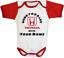 Custom Honda Car Logo Crv  Baby Bodysuit Newborn One Piece Unisex Clothes Red
