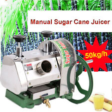 50kgh Manual Sugar Cane Press Juicer Juice Machine Commercial Extractor Mill
