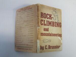 Good-ROCKCLIMBING-AND-MOUNTAINEERING-BRUNNING-C-1946-01-01-Light-foxing-P