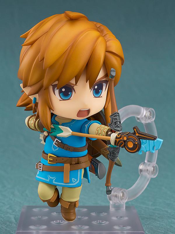 Authentic  733 Nendoroid Breath of the Wild Ver Zelda Action Figure Good Smile